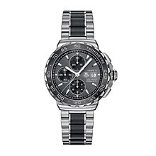 TAG Heuer F1 men's steel & black ceramic bracelet watch - Product number 1321617