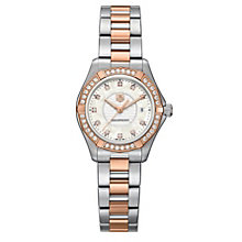 TAG Heuer Aquaracer ladies' 34mm two colour bracelet watch - Product number 1321838