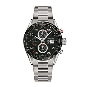 TAG Heuer Carrera men's stainless steel bracelet watch - Product number 1321854