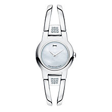 Movado Amorosa ladies' steel diamond bracelet watch - Product number 1334131