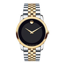 Movado Museum men's two colour bracelet watch - Product number 1334190