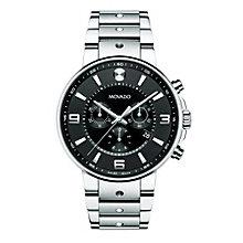 Movado SE Pilot men's stainless steel bracelet watch - Product number 1334220