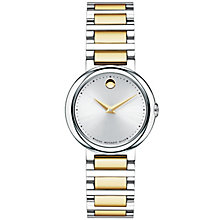 Movado Concerto ladies' two colour bracelet watch - Product number 1334247