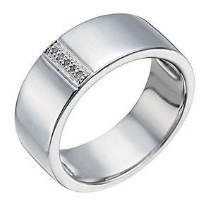 Silver & Diamond Ring - Product number 1335901