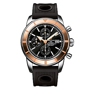 Breitling Superocean Heritage men's black rubber strap watch - Product number 1339346