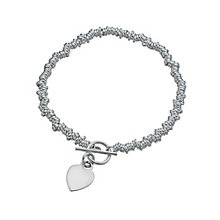 Silver candy heart bracelet - Product number 1339877