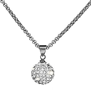 Shimla White Crystal Fireball Pendant - Product number 1346105