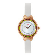 MW by Matthew Williamson Ladies' White Strap Watch - Product number 1347179