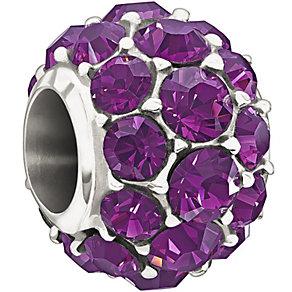 Chamilia With Purple Swarovski Crystal Splendour Bead - Product number 1347454