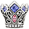 Chamilia Disney With Swarovski Crystal Crown Bead - Product number 1347519