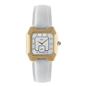MW by Matthew Williamson Ladies' White Strap Watch - Product number 1347748
