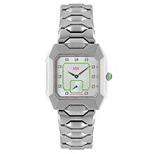 MW By Matthew Williamson Stone Set Steel Bracelet Watch - Product number 1347810