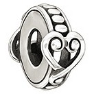 Chamilia Affection sterling silver bead - Product number 1348809