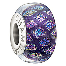 Chamilia Purple Opulence Murano glass sterling silver bead - Product number 1348906