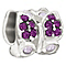 Chamilia Flutter with purple Swarovski crystal charm - Product number 1348965