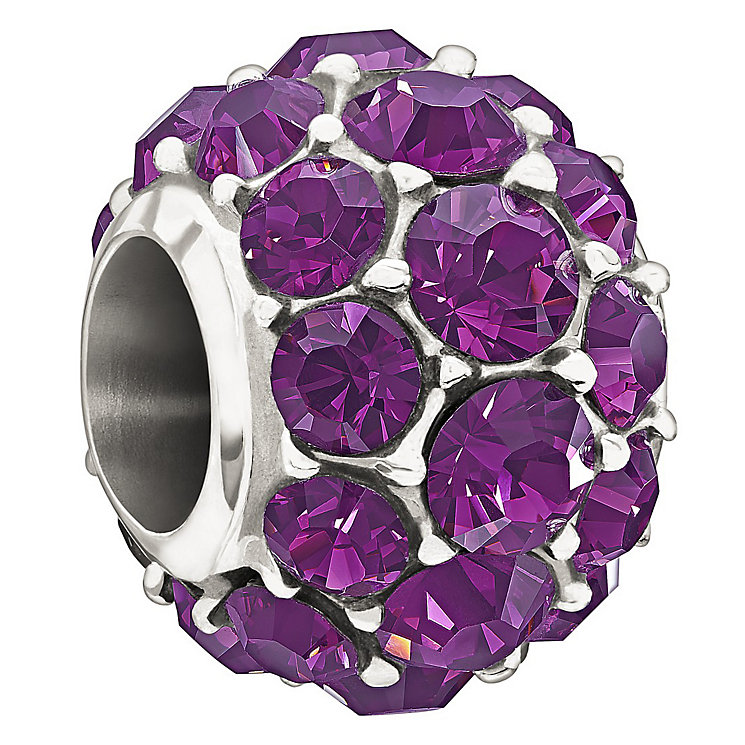 Chamilia Purple Splendour with Swarovski elements bead - Product number 1348973