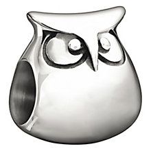 Chamilia sterling silver owl bead - Product number 1349120