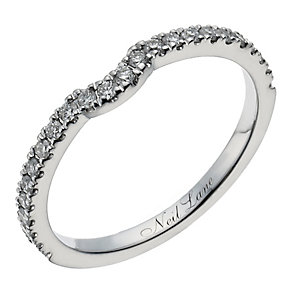 Neil Lane 14ct white gold 0.25ct diamond shaped ring - Product number 1349589