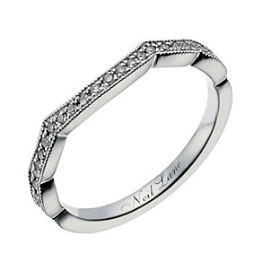 Neil Lane 14ct white gold 15 point diamond shaped ring - Product number 1349856