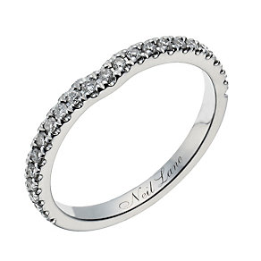 Neil Lane 14ct white gold 20 point diamond shaped ring - Product number 1350641