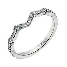 Neil Lane 14ct white gold 0.24ct diamond shaped band - Product number 1350919