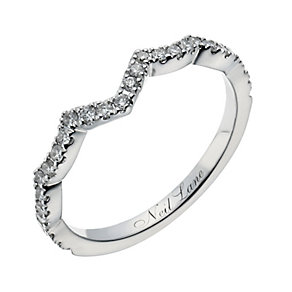 Neil Lane 14ct white gold 24 point diamond shaped ring - Product number 1350919