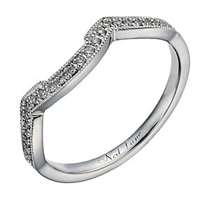 Neil Lane 14ct white gold 0.12ct diamond shaped ring - Product number 1351184