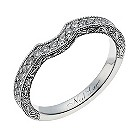 Neil Lane 14ct white gold 1/3 carat diamond shaped ring - Product number 1351702