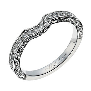 Neil Lane 14ct white gold 0.33ct diamond shaped ring - Product number 1351702