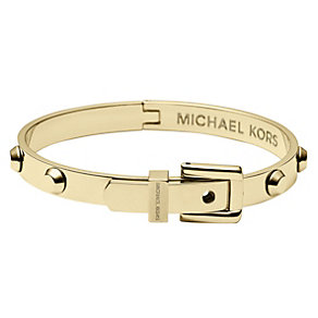 Michael Kors gold-plated stud buckle bangle - Product number 1352008