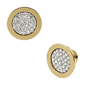 Michael Kors gold-plated stone set stud earrings - Product number 1352075