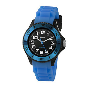 Limit Men's Blue Silicone Strap Watch - Product number 1352512