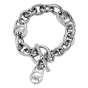 Michael Kors Stainless Logo Link Chain Bracelet - Product number 1352601