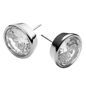Michael Kors stainless steel crystal stud earrings - Product number 1352628