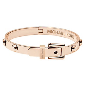 Michael Kors rose gold-plated stud bangle - Product number 1352652