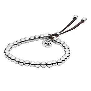 Michael Kors stainless steel stretch bead bracelet - Product number 1352687