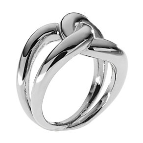 Michael Kors stainless steel interlocking ring size O - Product number 1352717