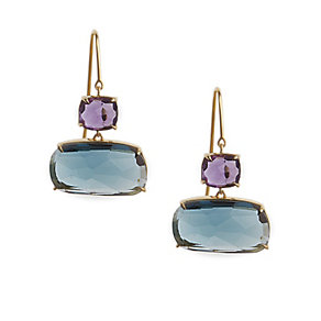 Marco Bicego Murano amethyst & blue topaz earrings - Product number 1354310