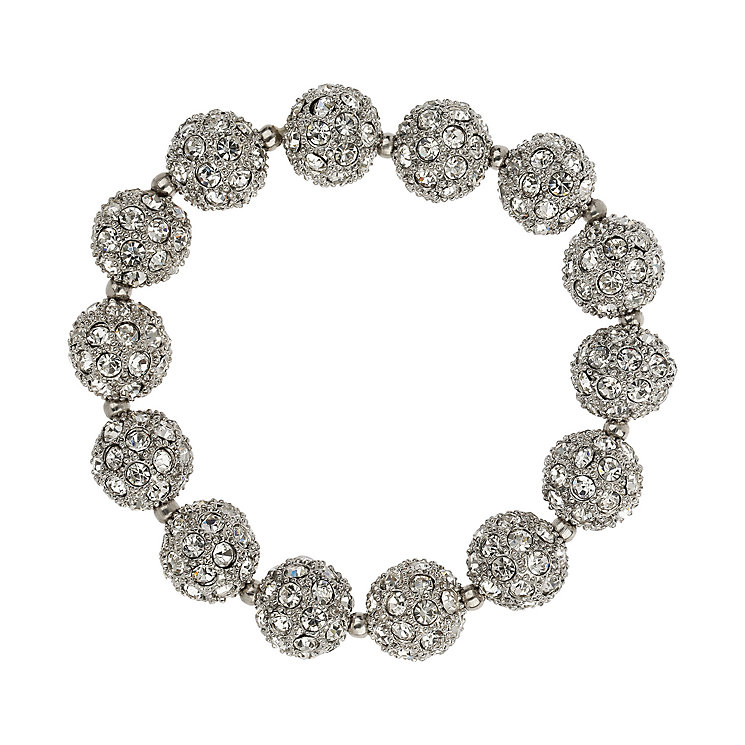 Mikey White Crystal Heavy Bracelet - Product number 1354728