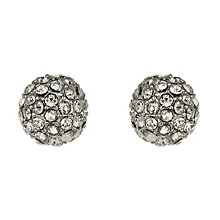 Mikey White Crystal Ball Stud Earrings - Product number 1354744