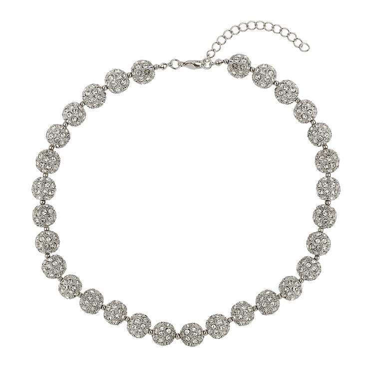 Mikey White Crystal Heavy Necklace - Product number 1354760