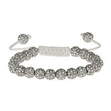 Mikey White Crystal Shambala Bracelet - Product number 1354795