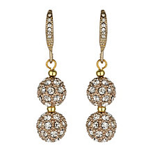 Mikey Yellow Crystal Heavy Earrings - Product number 1354809