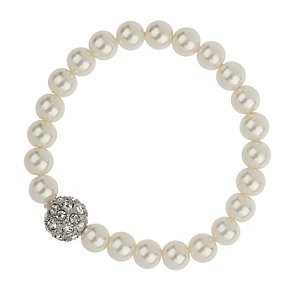 Mikey Imitation Pearl & Crystal Ball Bracelet - Product number 1354841