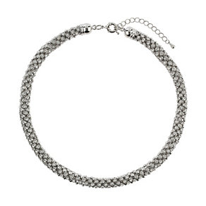Mikey White Scattered Crystal Necklace - Product number 1354930