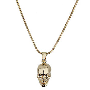 Mikey Yellow Skull Necklace - Product number 1354949