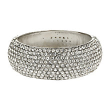 Mikey White Wide Crystal Bangle - Product number 1355147