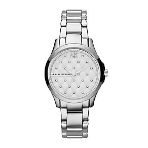 Armani Exchange Ladies' Stone Set Bracelet Watch - Product number 1355228