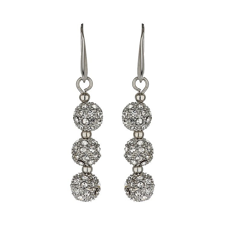 Mikey Yellow Crystal Heavy Drop Earrings - Product number 1356585