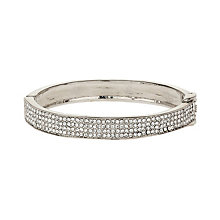 Mikey White Crystal Bangle - Product number 1356798